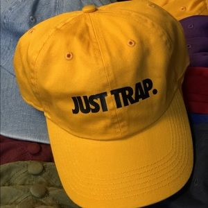 Just Trap Dad Cap - Mustard w/ Black